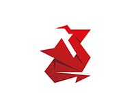 Origami Dragon / Logo design