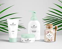 Nutrient Skincare Brand Identity