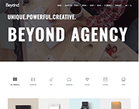 Portfolio 4 Columns - Beyond WordPress Theme