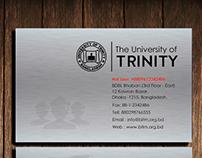 University Business Card with Logo | University | Logo