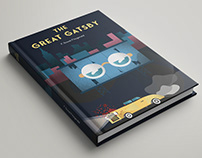 The Great Gatsby - Book Cover Illustration Design