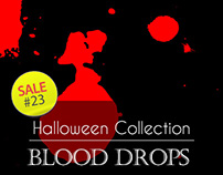Sale#23: Halloween Collection - Blood Drops