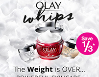 Superdrug Email Marketing - Olay Whips