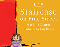The Staircase on Pine Street - book cover design