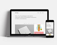 Vera Chang Portfolio Website