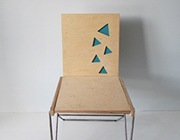Chair with transformation in armchair