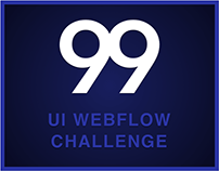 99ui Webflow Challenge. Cool Design Stuff for Free