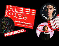 Heeboo - Identity & Website