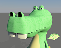 Lazy Dragon - Character Animation
