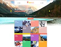 Design of website for PickPlace