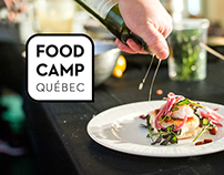 Branding // FoodCamp Québec