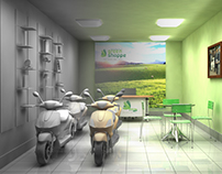 Green Shoppe - 3D visualization