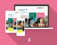 Brand Identity, Webdesign HPS Thun