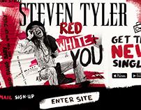 """Steven Tyler """"Red, White & You"""" Branding Elements"""