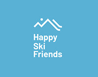 Happy Ski Friends Branding