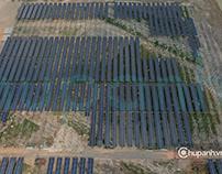CHụp ảnh không gian Solar panel Tây Ninh