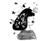 Novela juvenil El vuelo de la mariposa