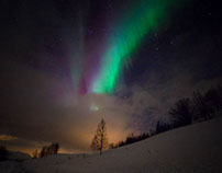 Aurora Borealis- the Nothern Lights!