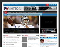 Sports Website -  Fantasy Alarm