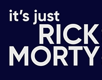 Rick and Morty - Kinetic Typography