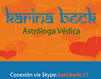 Karina Beck - Tarjetas personales