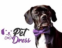 Identidade Visual + Logotipo Pet Dress - Roupas P/ Pet