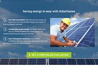 SolarGaines Website Design and Development