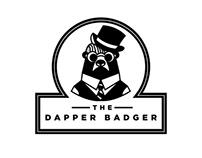 The Dapper Badger - Cafe Logo Design