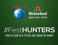 Heineken - #FestHunters