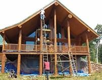 Log Home Restoration Steamboat Springs Colorado