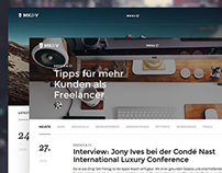 MK&V - Blogtheme & Brand