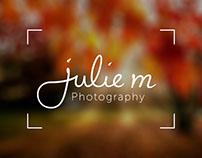 Julie M Photography - Logo Design