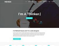 Mehedi Paralax Portfolio Bootstrap HTML-5 Template