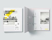 Folder Presentation Mockup (Free)