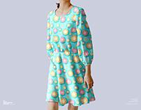 Free Female Dress Mockup