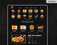 Sushi Restaurant Website