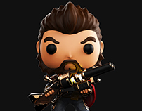 Graves( League of Legends) Funko pop Style