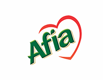 Competition to redesign Afia's Label and Rosette
