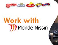 Monde Nissin Corporation LinkedIn banner designs