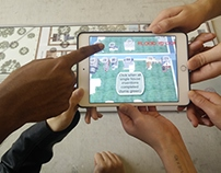 Augmented Reality game - Projecting change