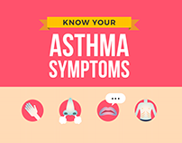 Infographic: Asthma Symptom Recognition