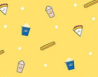 Food Icons for Cinépolis