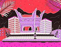 My 90's Oman memories | Illustration series