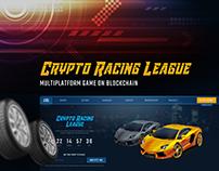 Crypto Racing League | Multiplatform Game on Blockchain