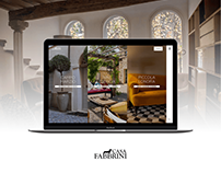 Casa Fabbrini - Website Restyling