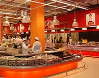 Carrefour Bulgaria / Store branding