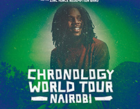 CHRONIXX TOUR POSTER - TUBORG KENYA