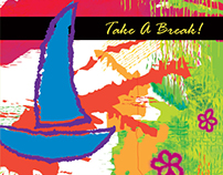 Take-a-break 3d brochure