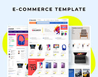 Balance E-commerce template