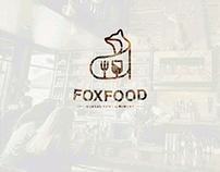 Fox Food Logo Concept
